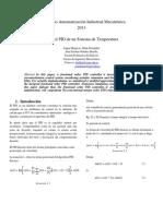 Control PID de Un Sistema de Temperatura