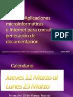 Bases de Datos UF 1467 Aplicaciones Microinformáticas e Internet Para Consulta y Generación de Documentación