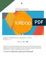 10 Coisas Que Você Poderá Fazer Com a Atualização 5.1 Do Android - Gizmodo Brasil