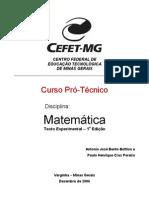 Apostila Matemática CEFET PDF