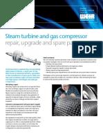 Steam Turbine Gas Compressor Brochure Power