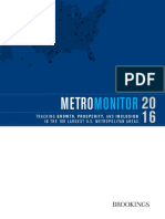 Brooking's Metro Monitor Report