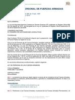 Feb15 Ley de Personal de Fuerzas Armadas