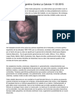 Descubrimiento Argentino Contra La Calvicie 11 03 2015