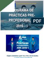 Practicas de Practicas Pre Profesionales2016!1!0