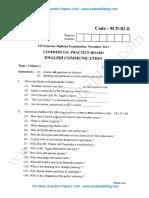 1st SEM English Communication - Nov 2011.pdf