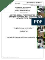 Programa Operativo Radiología