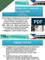 Updates on Food Labelling-PAFT Presentation-21 Feb