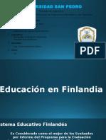 Educación en Finlandia y Perú