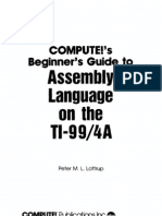 COMPUTE!'s Programmer's Reference Guide to the TI-99/4A