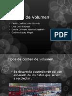 Estudio-De-Volumen y Tipos de Conteo