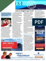 Cruise Weekly for Tue 02 Feb 2016 - Oceania AMPERSAND Regent to Sydney, Uniworld, Scenic, MSC Cruises, Emerald Waterways, Azamara AMPERSAND more