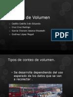 estudio de volumen 2