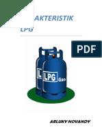 Karakteristik LPG