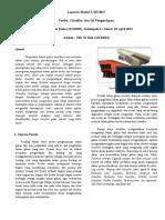 feeder classifier dan uji pengendapan