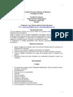 Jornalización Matemáticas I MM-110