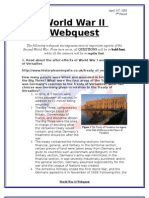 World War II Webquest