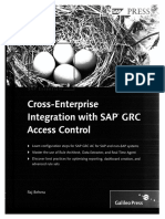 Cross Enterprise Integration With SAP GRC Access Control 2009