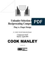 Unloader Selection for Recip Compressors