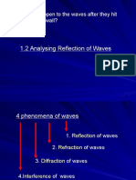 1.2 Reflection Waves