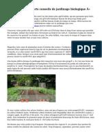 « Reliant les Experts conseils de jardinage biologique »