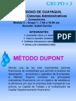 Exposición DUPONT