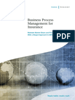 Business Process Management for Insurance