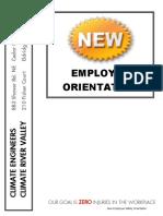 3. New Employee Orientation