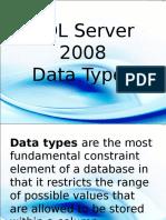dataTypesSQL