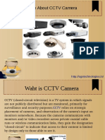 More About CCTV Camrea
