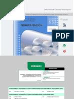 Modulo II Desarrolla Software de Aplicación Utilizando