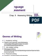Language Assessment (Chap. 9)