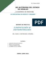 Historia Clinica Paciente con Cirrosis Hepatica