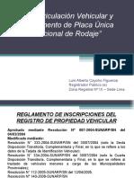 Inmatriculacion Vehicular