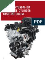 VHe New Hyundai-Kia 1,0 L Three-Cylinder Gasoline Engine