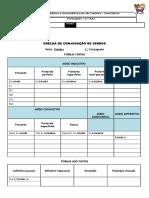 Ficha de Trabalho_grelha de Conjugação Verbal