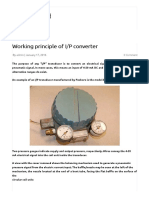 Working Principle of I_P Converter