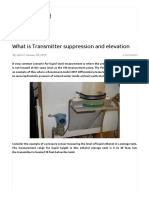 What is Transmitter Suppression and Elevation