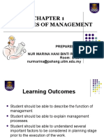 CHAPTER 1 - PRINCIPLES OF MANAGEMENT