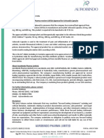 Aurobindo Pharma receives USFDA Approval for Celecoxib Capsules [Company Update]