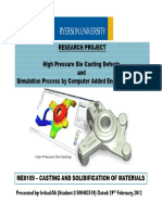 High Pressure Die Casting Defects