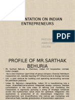 20008128 Presentation on Indian Entrepreneurs