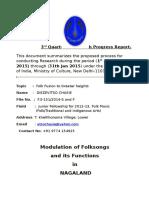 Modulations of Naga folk songs/Social functions