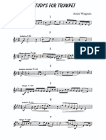 15 Study a. Waignein for Trumpet