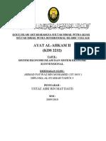 Sistem Ekonomi Islam Dan Ekonomi Konvensional