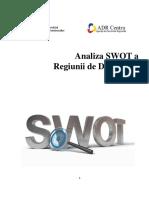 Analiza SWOT a RD Centru
