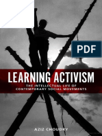 Aziz Choudry_Learning Activism- The Intellectual Life of Contemporary Social Movements