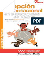Guía adopción internacional