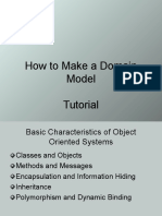 Domain Model Tutorial