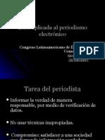 Etica Aplicada Al Periodismo Electronico